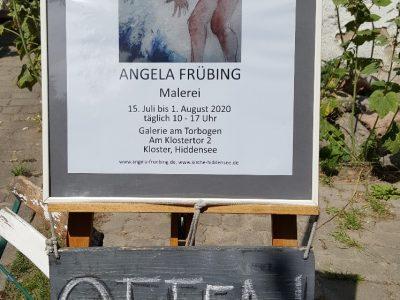 Bin so frei – Ausstellung der Malerin Angela Frübing – Folge 4